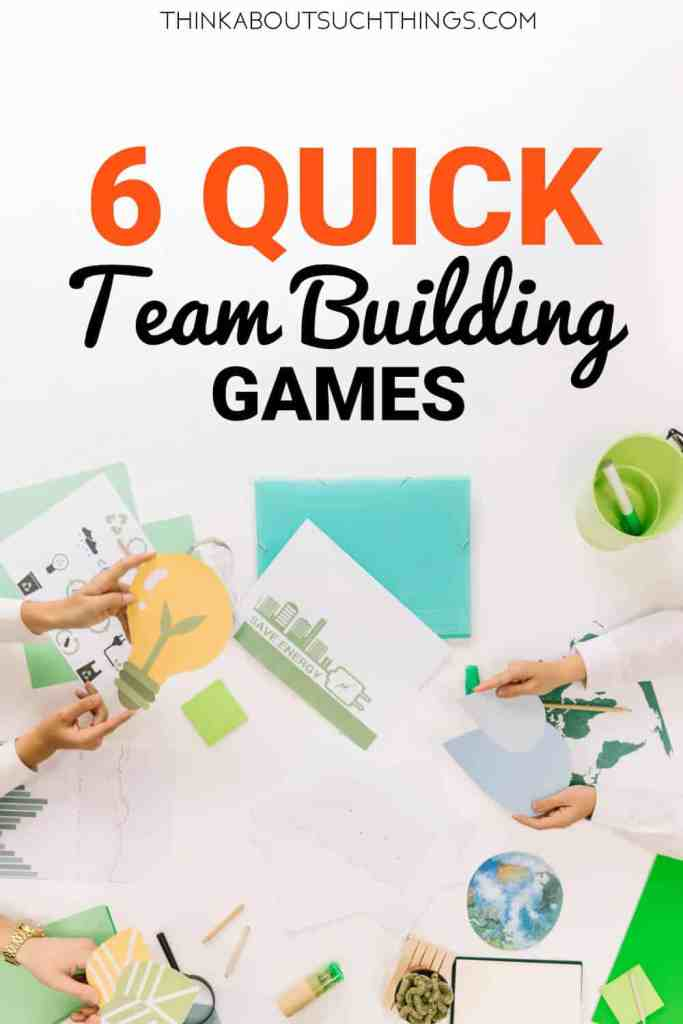 Quick Team Building Games for your meeting