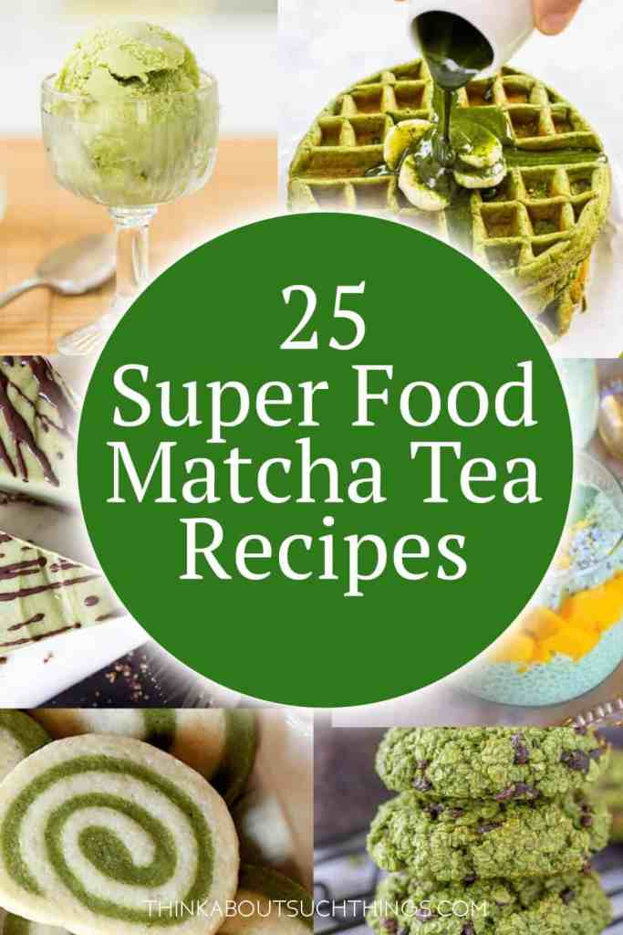 Boost your antioxidants while delighting your taste buds. These recipes with matcha tea are sure to delight!