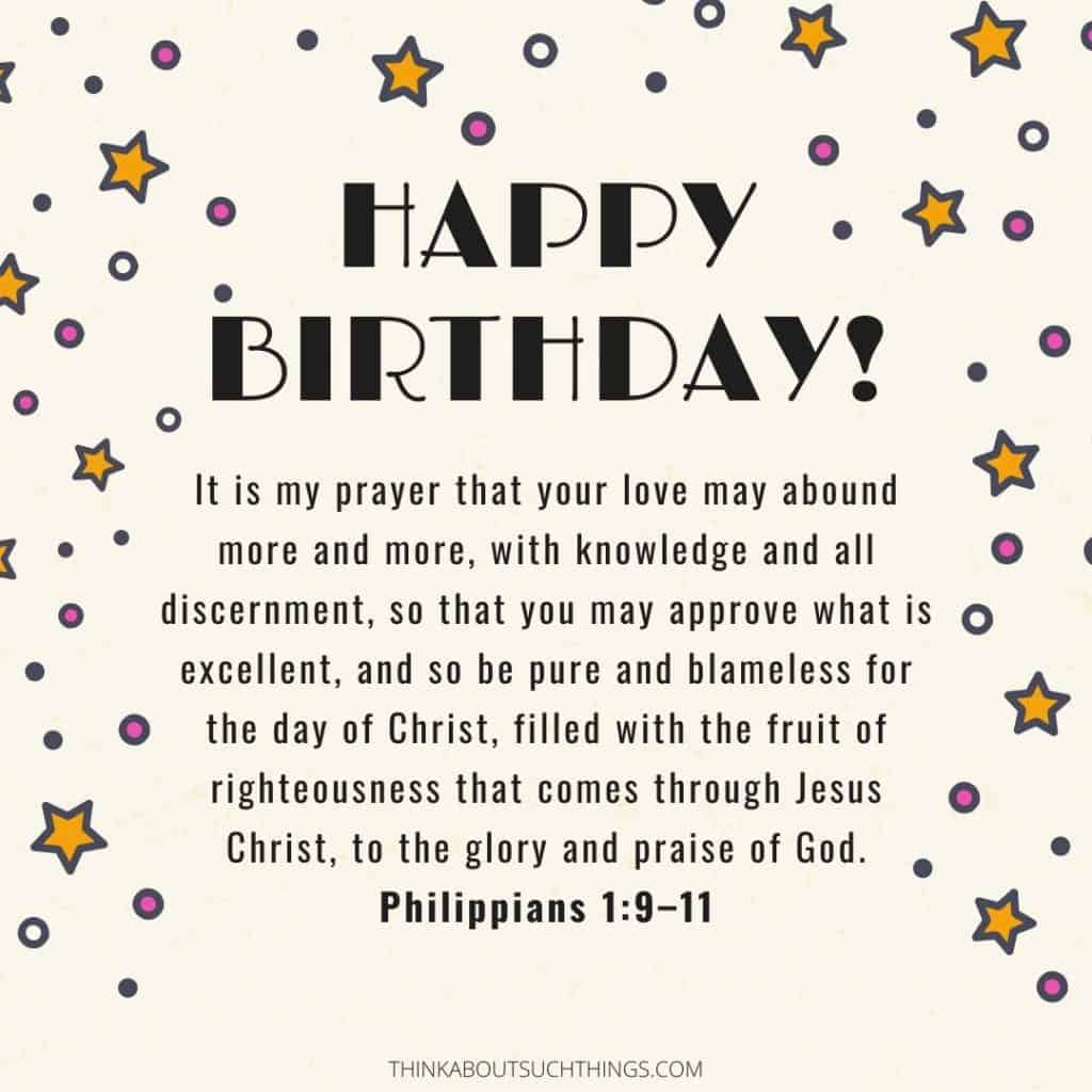 45 Powerful Birthday Prayers [With Images]   Think About Such Things