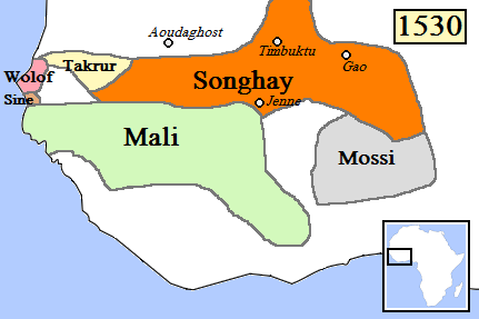 map - mossi kingdom