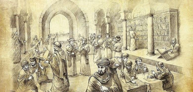 abbasid_caliphate_The House of Wisdom Bayt Al-Hikma, Baghdad, Iraq