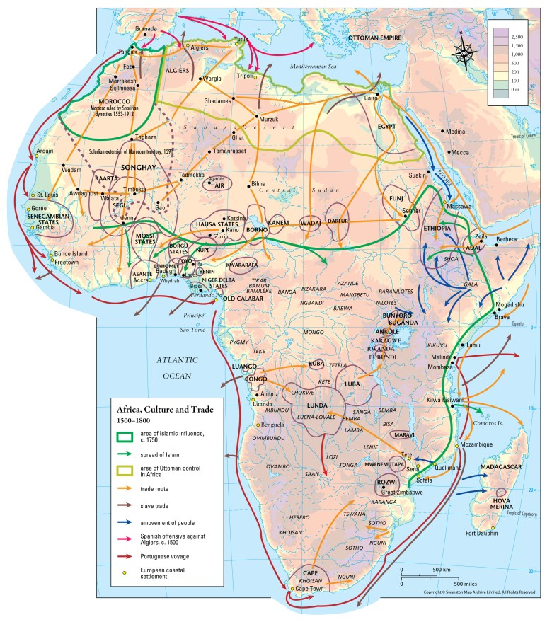 maparchive - Africa, Culture and Trade 1500–1800