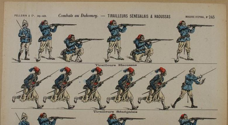 Senegalese Tirailleurs - uniform Bertrand Malvaux
