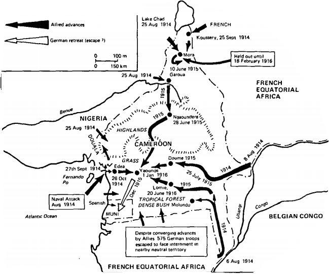 german west africa schutztruppe - Kamerun