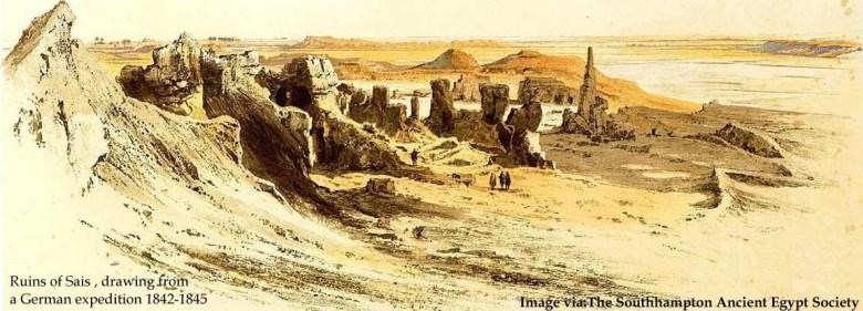 temple of sais pic 6 - ruins of sais