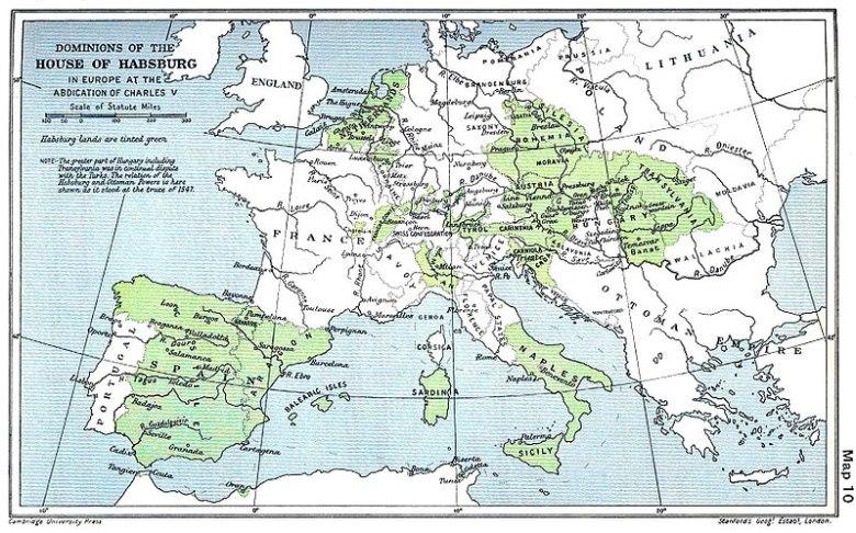 yaa asantewaa - 800px-Habsburg_Map_1547