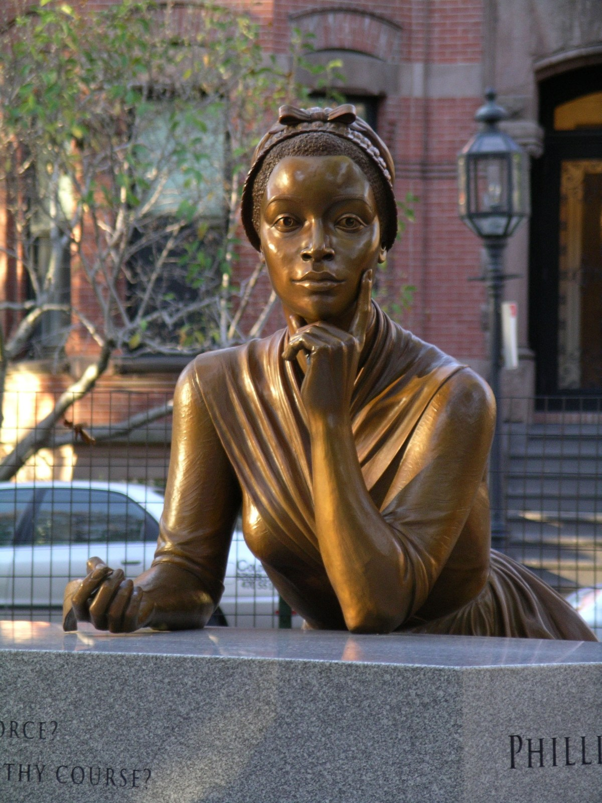Phillis Wheatley - featured - memorial statue1