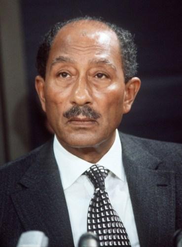 Anwar Sadat, former President of Egypt