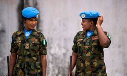 Nigerians picture of UN peacekeepers