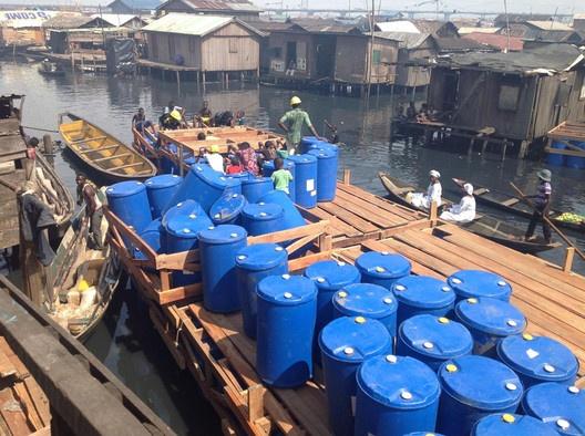 Makoko Floating School / NLÉ,Makoko Floating School © NLÉ architects