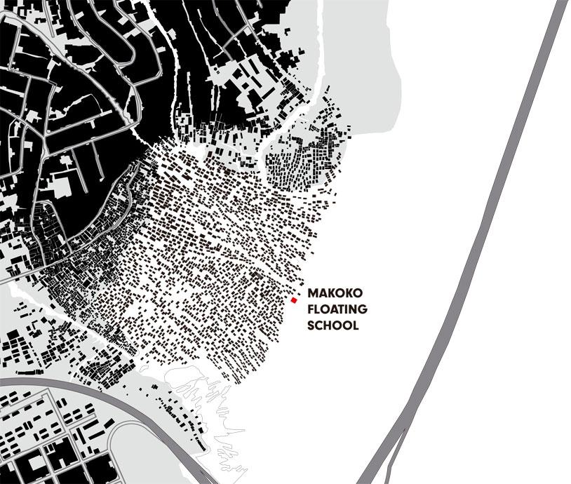 makoko floating system location