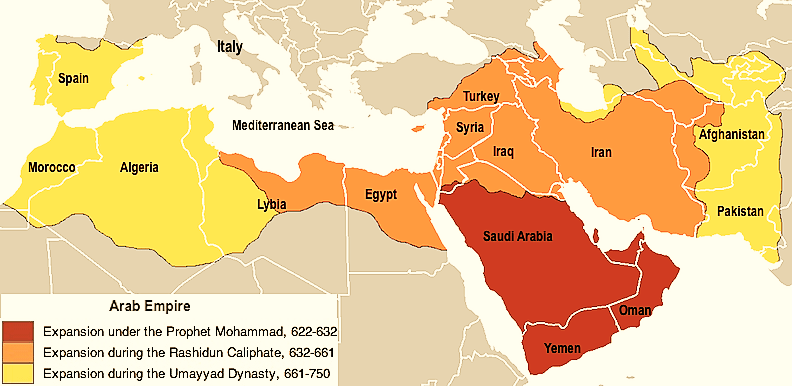 Egypt under the Rashidun Caliphate: international spread of Islam - Think Africa