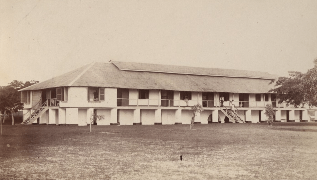 colonization of africa colonial hospital