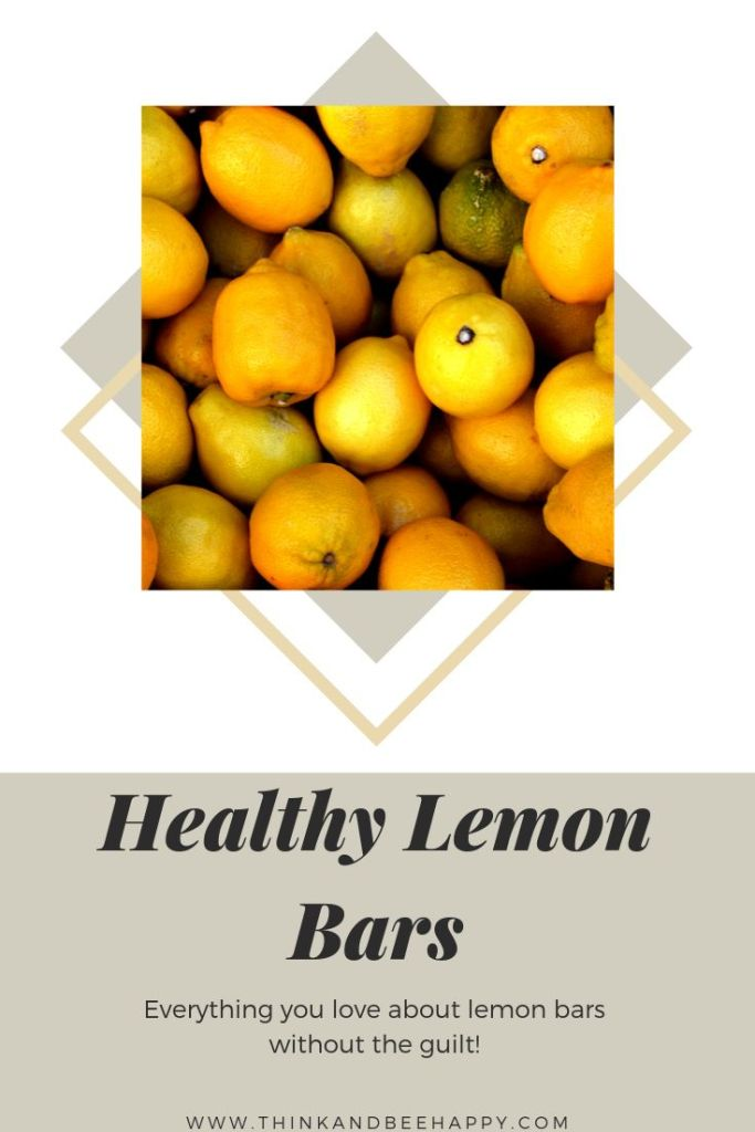 Healthy lemon bars, everything you love about these sweets without all the guilt.