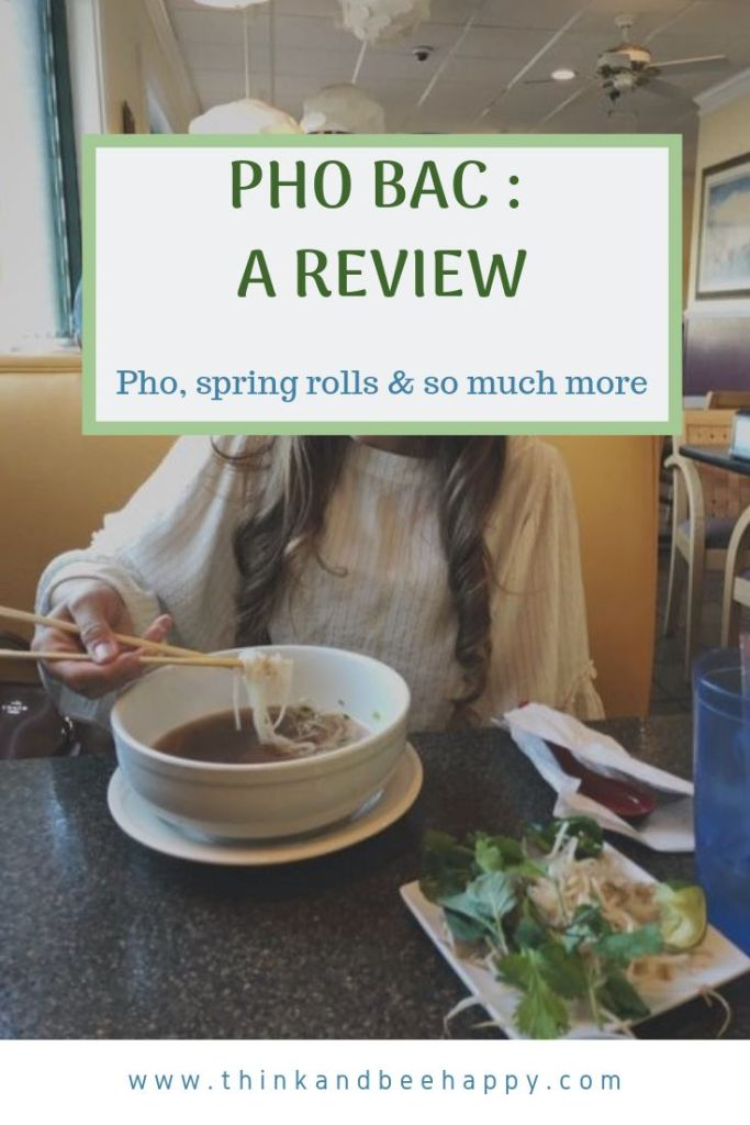 So I decided to go to Pho Bac in Evans, Georgia. I never had pho before and I didn't really think it was a big deal, I mean seriously, what's so special about some soup?