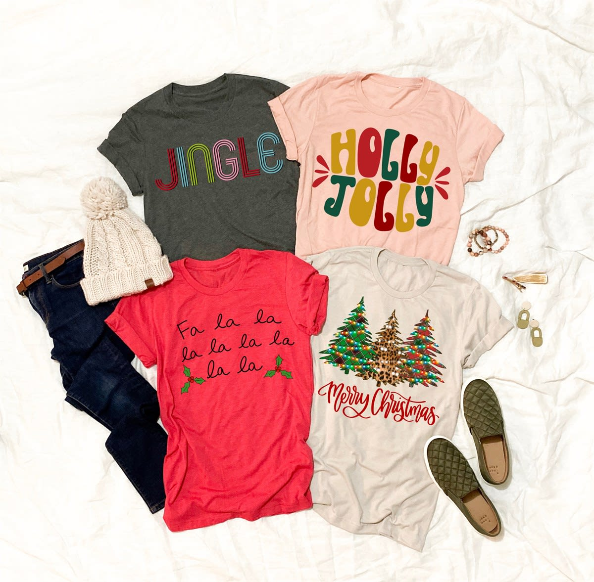 Retro Christmas Tees