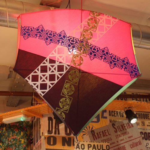 Bespoke Kite lighting for Cabana