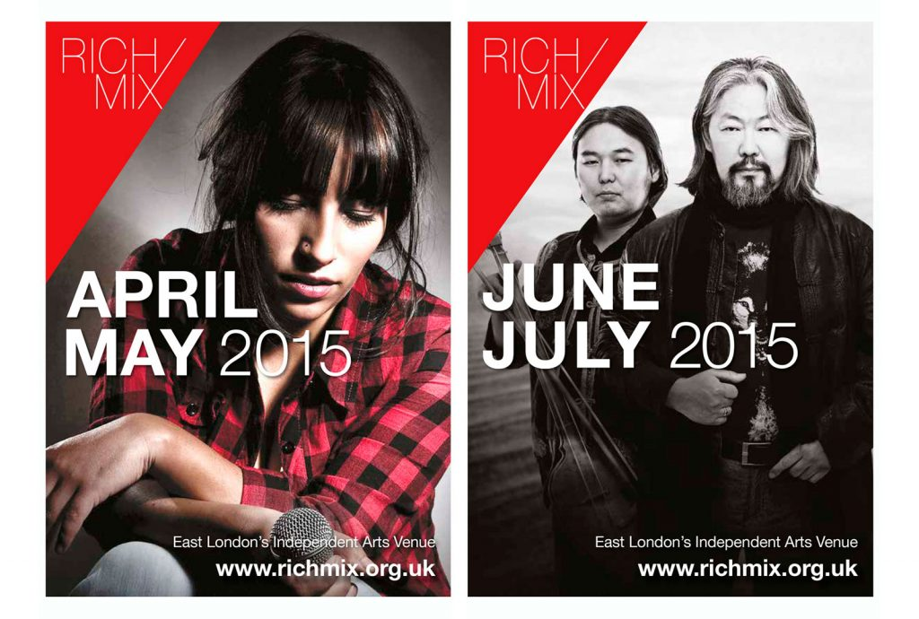Rich Mix Brochure Covers