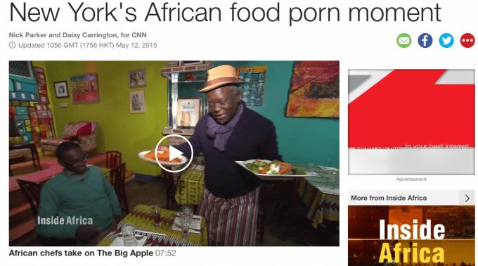 African Food, CNN