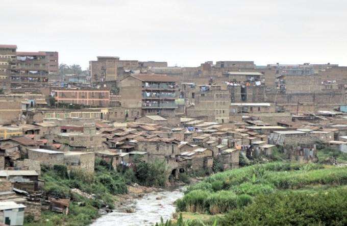 Dandora with Nairobi river