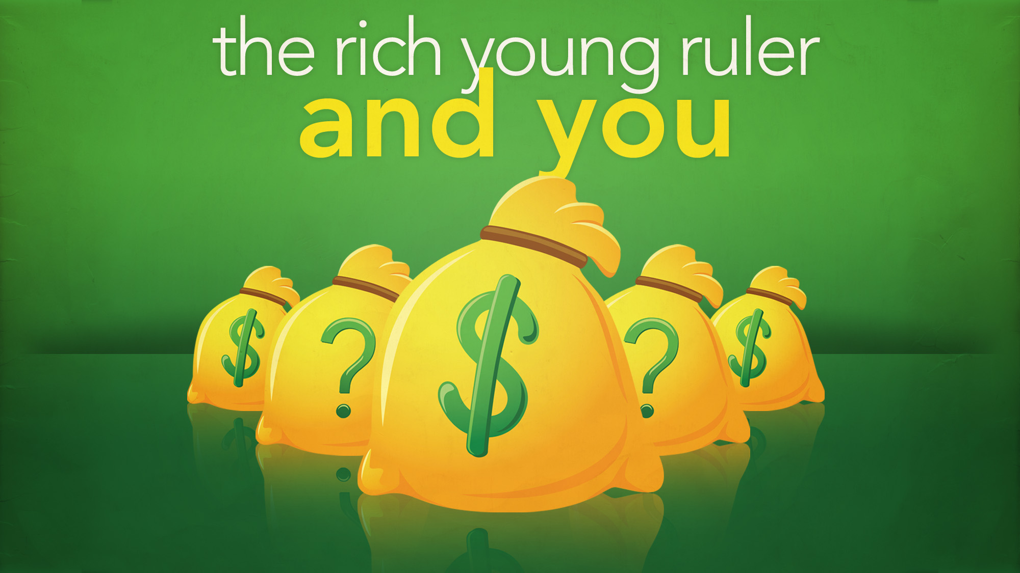 Rich Young Ruler A Lesson In Loving And Discipleship