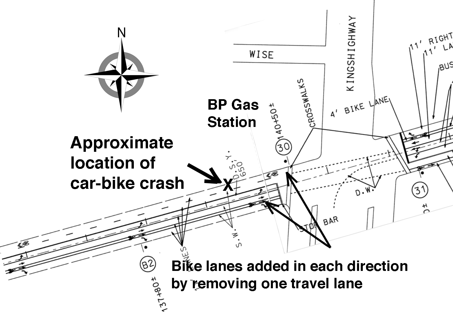 Anatomy Of Cyclist Susan Herzberg S Car Bike Crash Amp Other Problems With Modot S Route 100