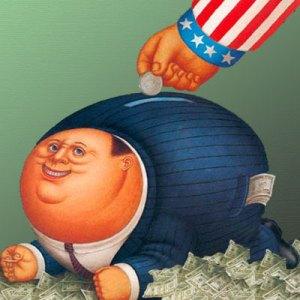 Corporate Welfare Piggy Bank-400x400