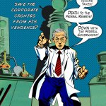 Ron Paul is Dr. No Comic Book Cover