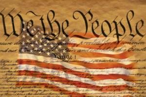Constitution and U.S. Flag