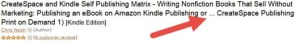 Amazon KDP Keywords Having No Positive Search Result Effects?