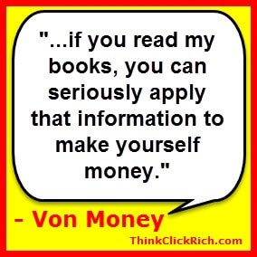 Author Interview: 20 Questions with Von Money