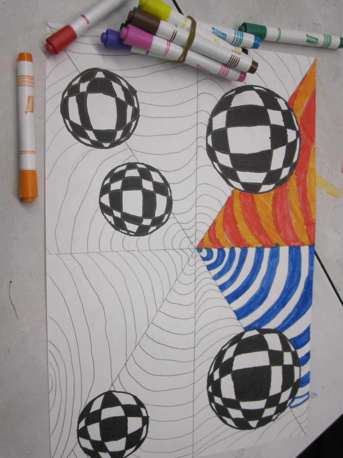 Op Art 6th Grade