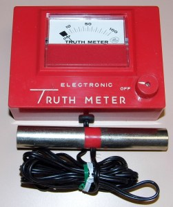 Eletronic Truth Meter