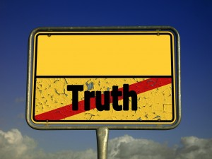 """There is """"no truth,"""" or so it's popular to think today."""