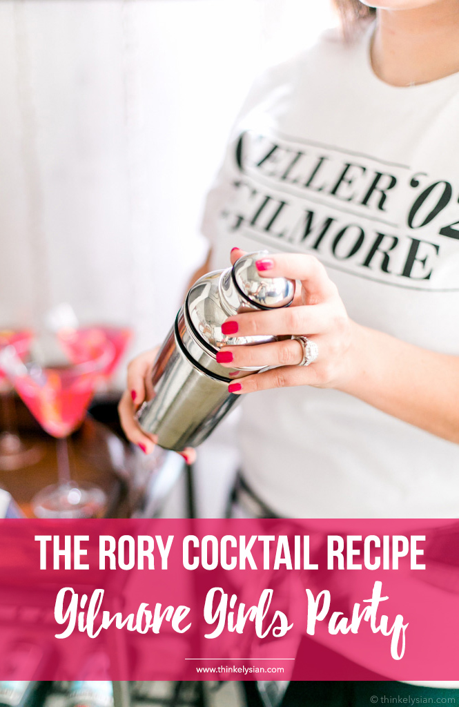 'The Rory' Cocktail Recipe for the Gilmore Girls Revival
