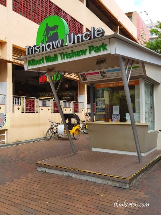 Trishaw Uncle Waterloo Street Bugis Singapore