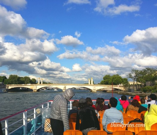 Cruise down the River Seine in Paris