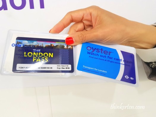 London Pass & Oyster Card