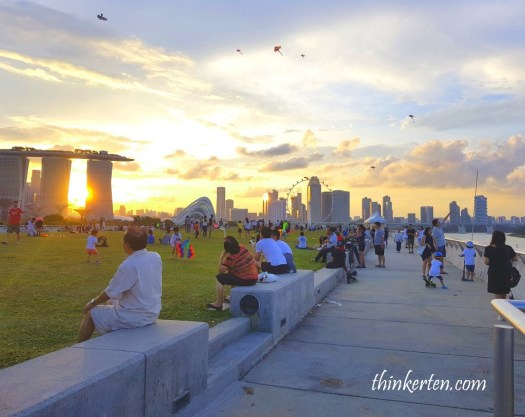 Marina Barrage PUB Green Roof