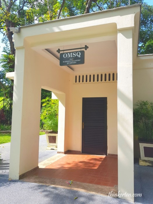 OMSQ in Fort Canning Singapore