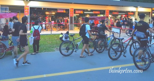 East Coast Park Singapore - Bike Rental Shop