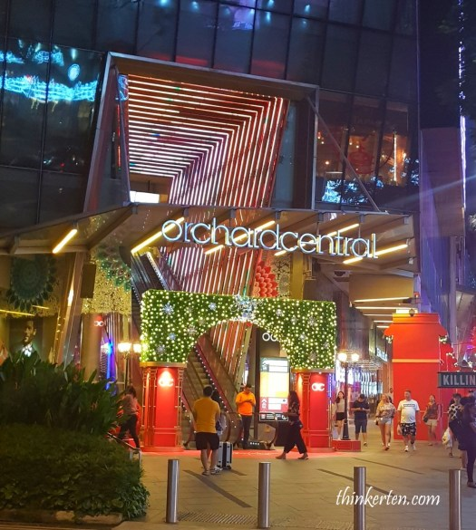 2017 Christmas Light Up at Orchard Road