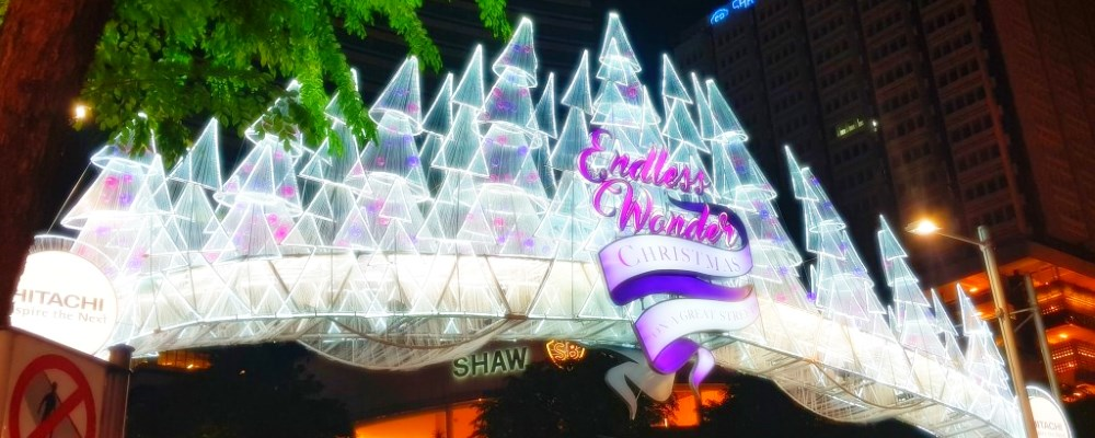 Christmas Light Up In Orchard Road Singapore - Endless Wonder