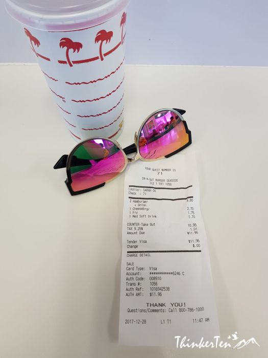 My IN-N-Out Burger Experience in California