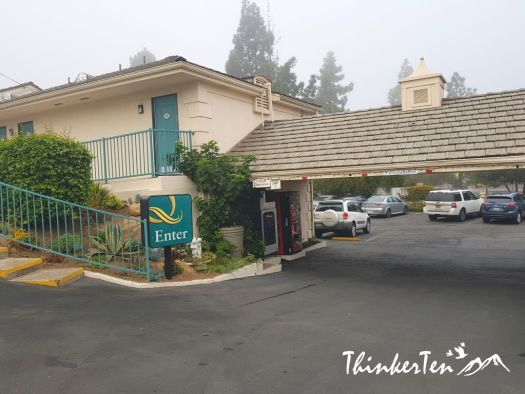 US Hotel Review : California - Quality Inn Santa Barbara