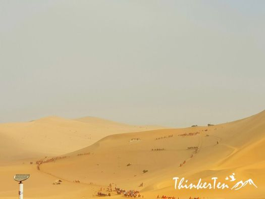 An Oasis in Silk Road : 13 Things you need to know before visiting Echoing Sand Mountains & Cresent Moon Lake 鸣沙山月牙泉