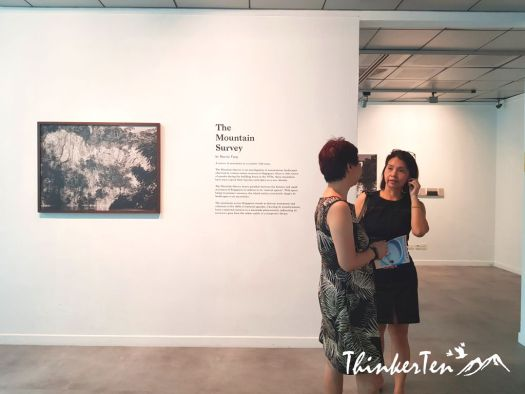 Event : Singaporean Talented Artist - The Mountain Survey @ Alliance Francaise de Singapour
