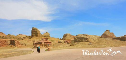 Xinjiang : Urho Ghost City & Karamay Oilfield 新疆魔鬼城 & 克拉玛依油田