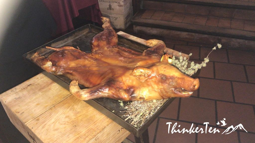 Must try dish in Segovia - The Suckling Pig @ Restaurante El Cordero Review