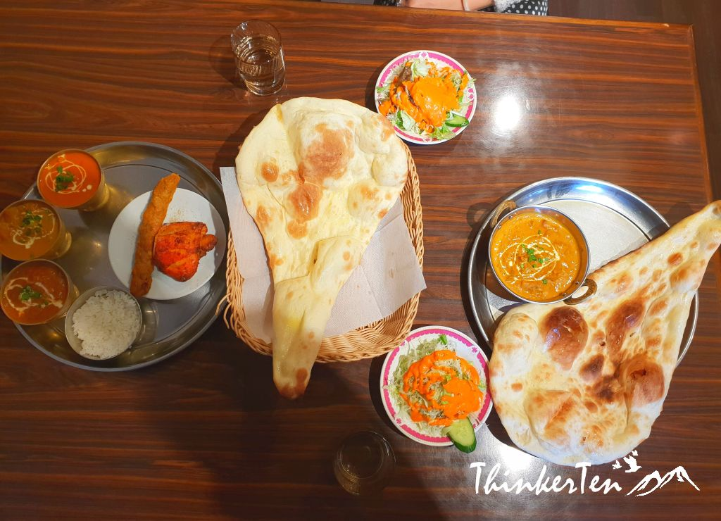 Indian Cuisine in Japan Review - One of the popular food in Japan!
